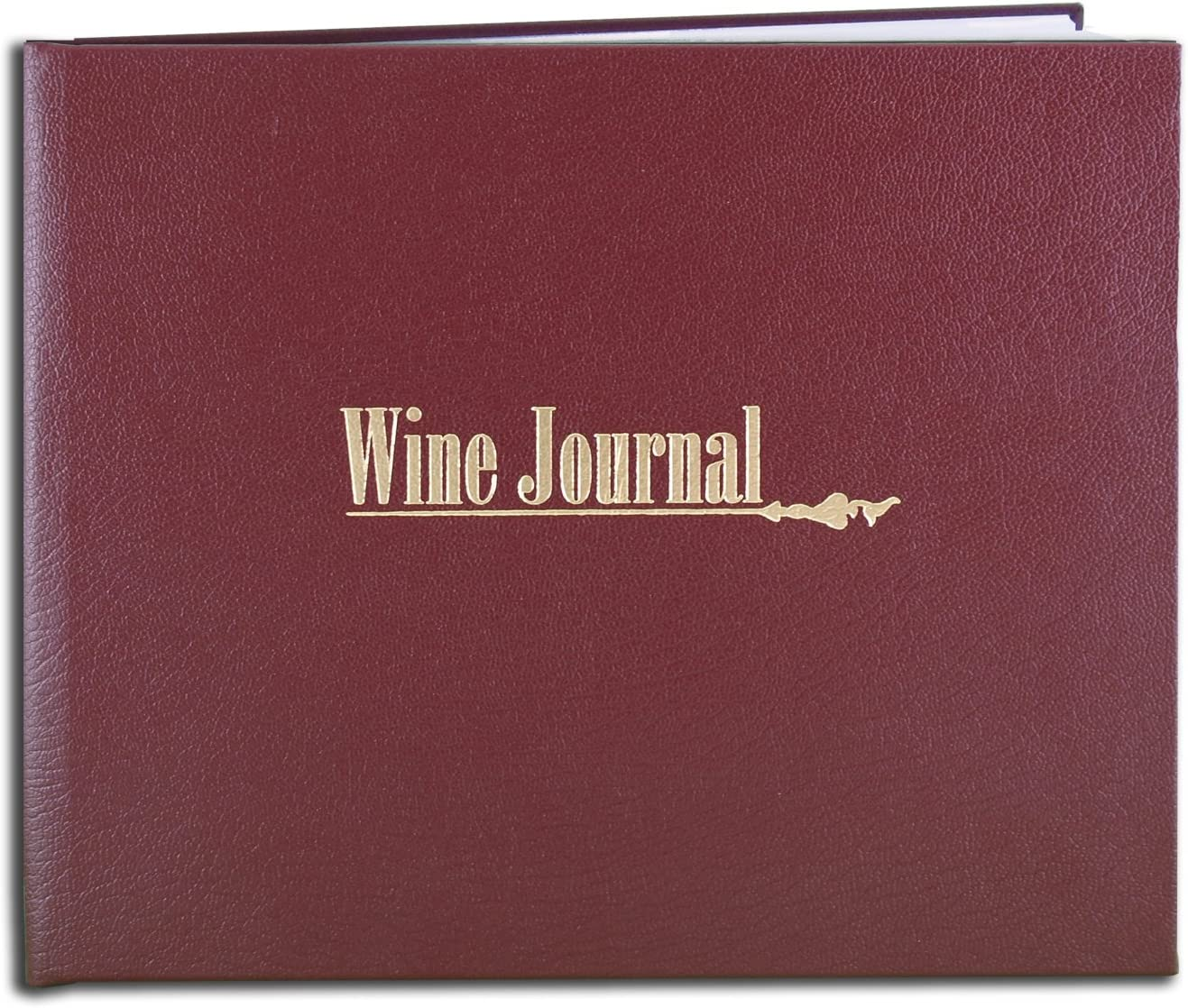 Black Leather Cover 72 Pages Professional Grade Smyth Sewn Hardbound 8 7//8 x 7 BookFactory Wine Journal//Wine Log Book//Wine Collector/'s Diary//Wine Notebook LOG-072-XLO-TWR-WINE-XKT43R