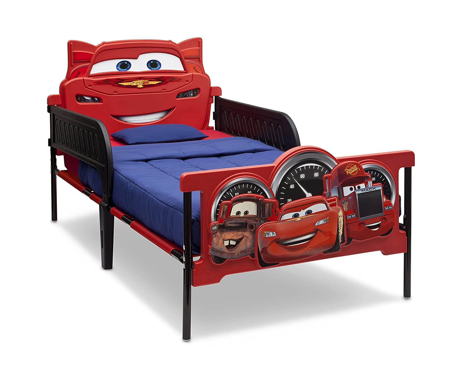 Amazon Delta Children Plastic 3D Footboard Twin Bed Disney Pixar Cars Baby