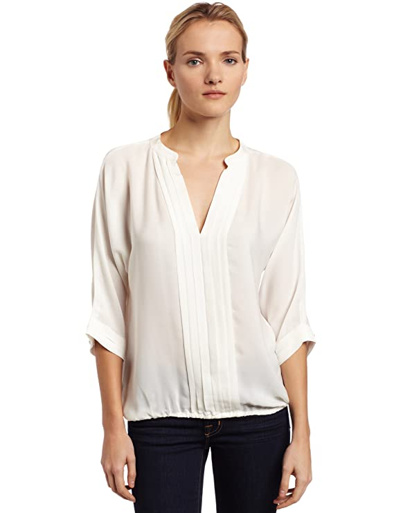 2bdf2dc0fbb70e Amazon.com: Joie Women's Marru Silk Pintuck Blouse: Clothing