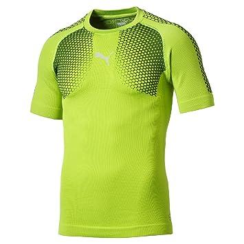 88b190e8680 Puma Men's T-Shirt It Evotrg ACTV Thermo-r Tee: Amazon.co.uk: Sports ...