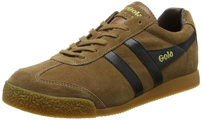 Gola Men's Harrier Fashion Sneaker B0716ZM45T 12 D(M) US|Tobacco/Black/Dark Brown