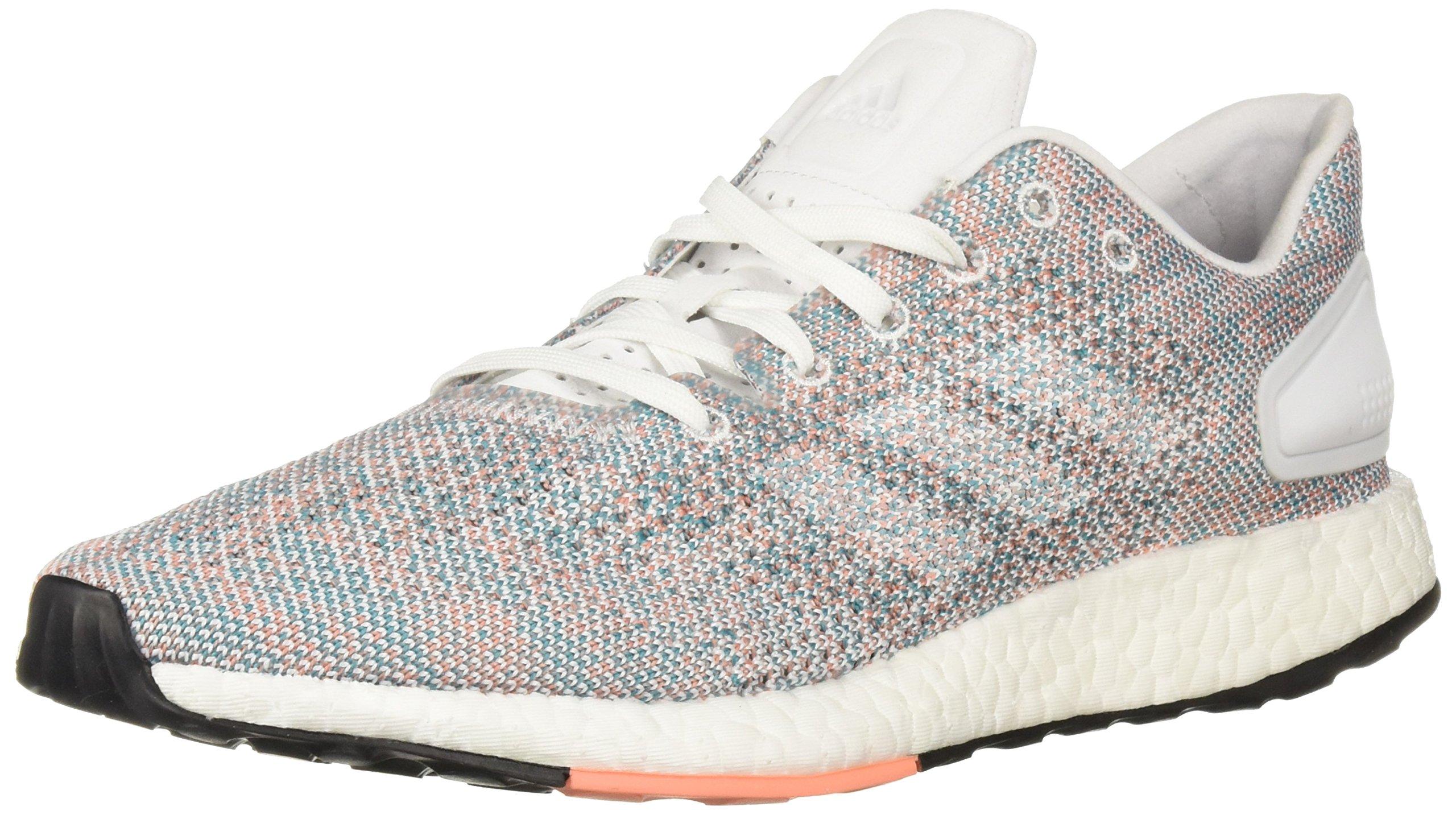 adidas Women's Pureboost DPR Running Shoes, White/Chalk Coral, 5 M US