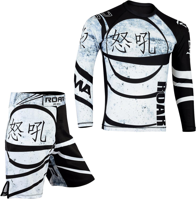 ROAR MMA Fight Shorts UFC Grappling Muay Thai BJJ Training Jiu Jitsu No Gi Wear