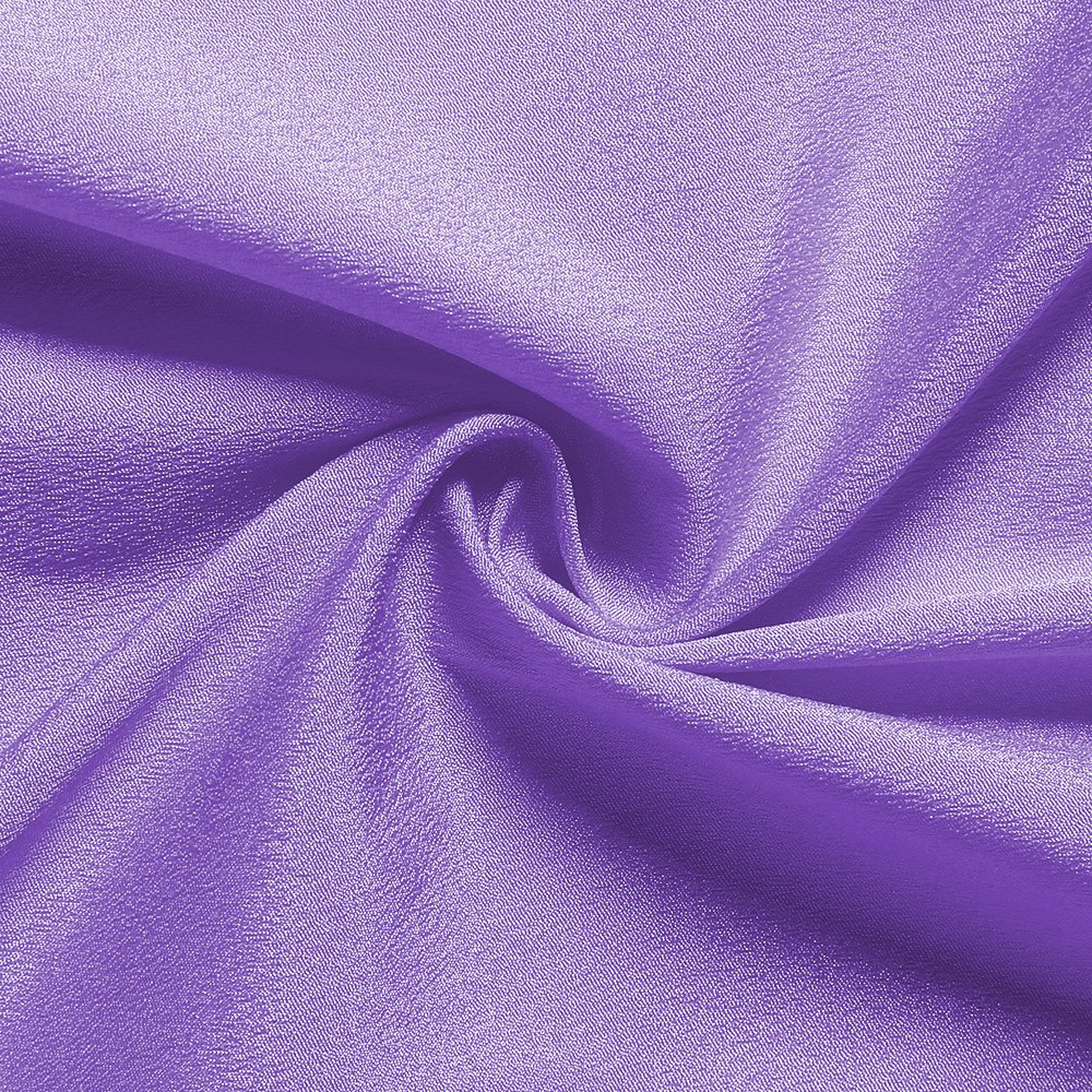 B-COOL Lovely Light purple Tulle Tutu Table Skirt 4.5 yards Tulle Table Cloth Skirt Customized Romantic Girl Princess Birthday Party Table Skirts Banquet Table Decorations(L14(ft) H 30in) by B-COOL (Image #6)