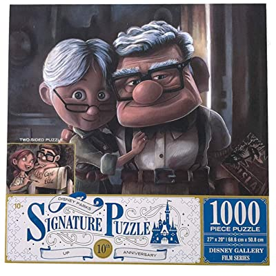 DisneyParks Up! Carl Ellie 10th Anniversary Two Side 1000 Piece Puzzle New: Toys & Games [5Bkhe0503850]