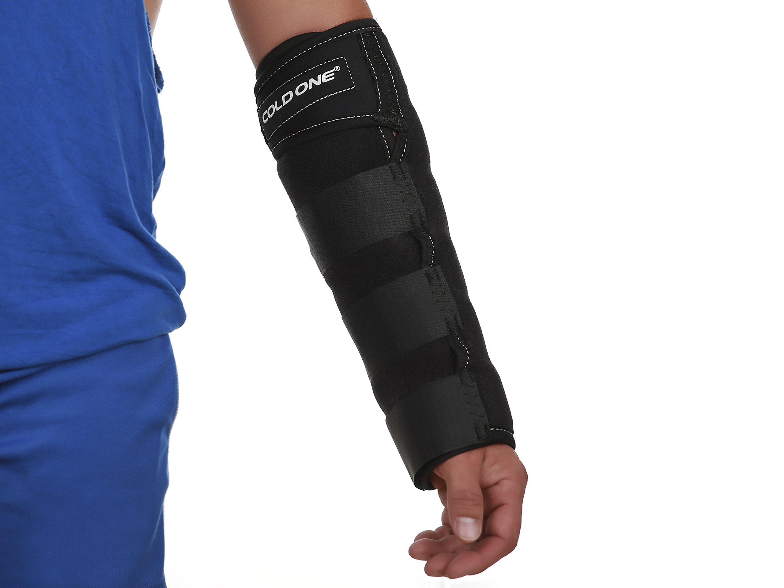 Forearm Ice Compression Wraps - Large (over 6'4'' or 260 lbs) by Cold One by Cold One