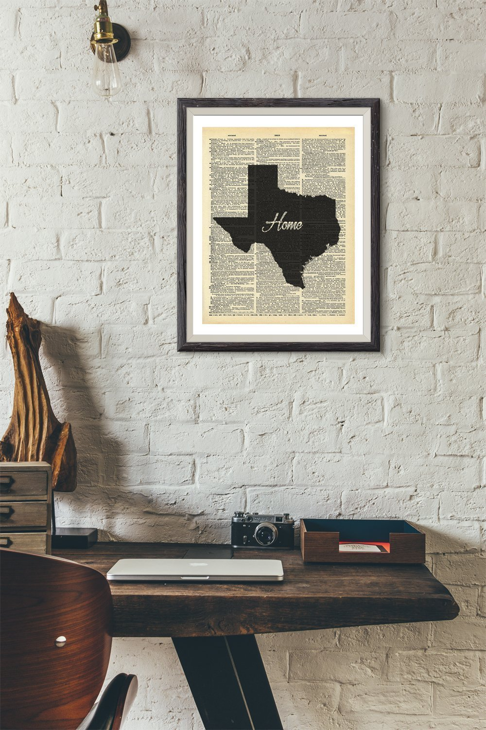 State Of Texas Abstract Art