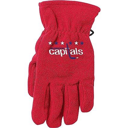 ba85d347a Amazon.com   Reebok Washington Capitals 2011 NHL Winter Classic Fleece  Gloves   Sports Related Merchandise   Sports   Outdoors