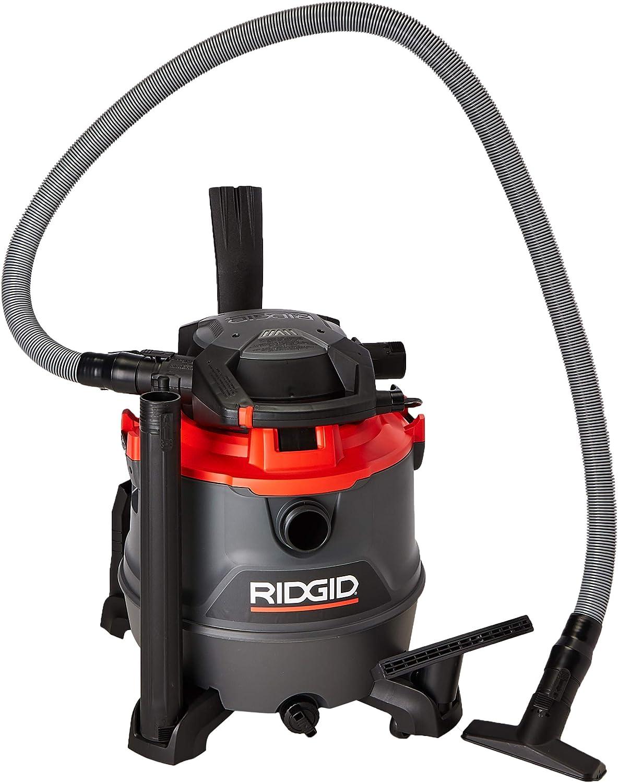 Amazon Com Ridgid 40108 16 Gallon Wet Dry Vacuum With Detachable Blower Home Improvement
