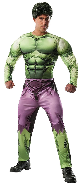 Disfraz de Hulk Marvel deluxe para adulto: Amazon.es: Ropa y ...