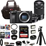 Sony a6500 Mirrorless Camera w/ 55-210mm Lens + 32GB SDHC Accessory Bundle