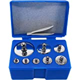 Hfs (R) Scale Balance Calibration Weight Set - 10-1000g 8Pc Set with Case