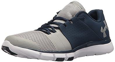 Under Armour UA Strive 7, Chaussures de Fitness Homme Noir (Black_004) 45.5 EU