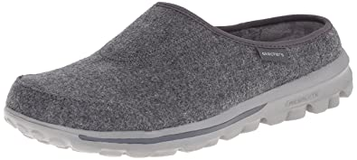Skechers Performance Women's Go Walk Patch Mule,Charcoal,8.5 ...