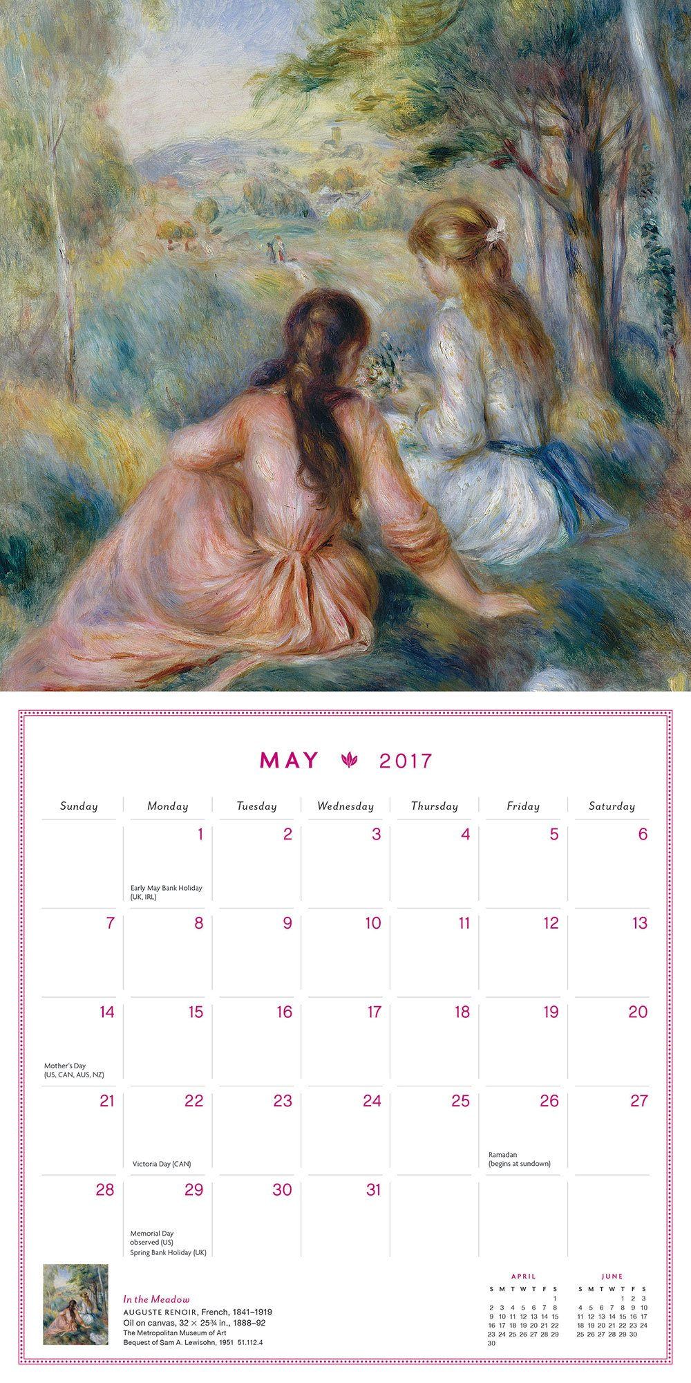 Gardens of France 2017 Mini Wall Calendar: The Metropolitan Museum of Art:  9781419721670: Amazon.com: Books