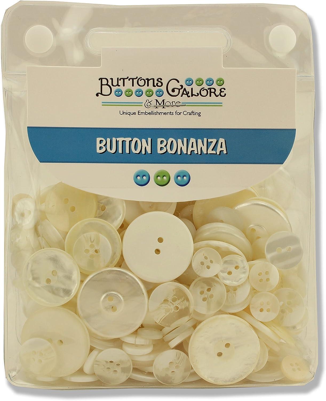 Button Bonanza .5Lb Assorted Buttons-Sunshine