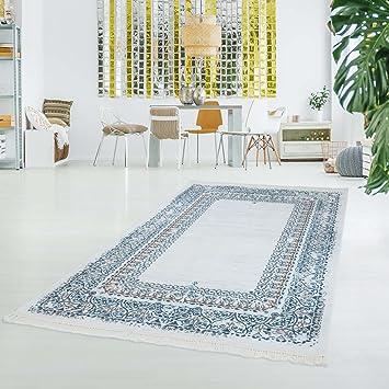 Teppich Sigma orientalisch Baumwolle Mia Villa Ø 120 cm