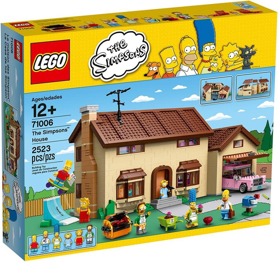 レゴ(LEGO) ザ・シンプソンズ シンプソンズハウス 71006