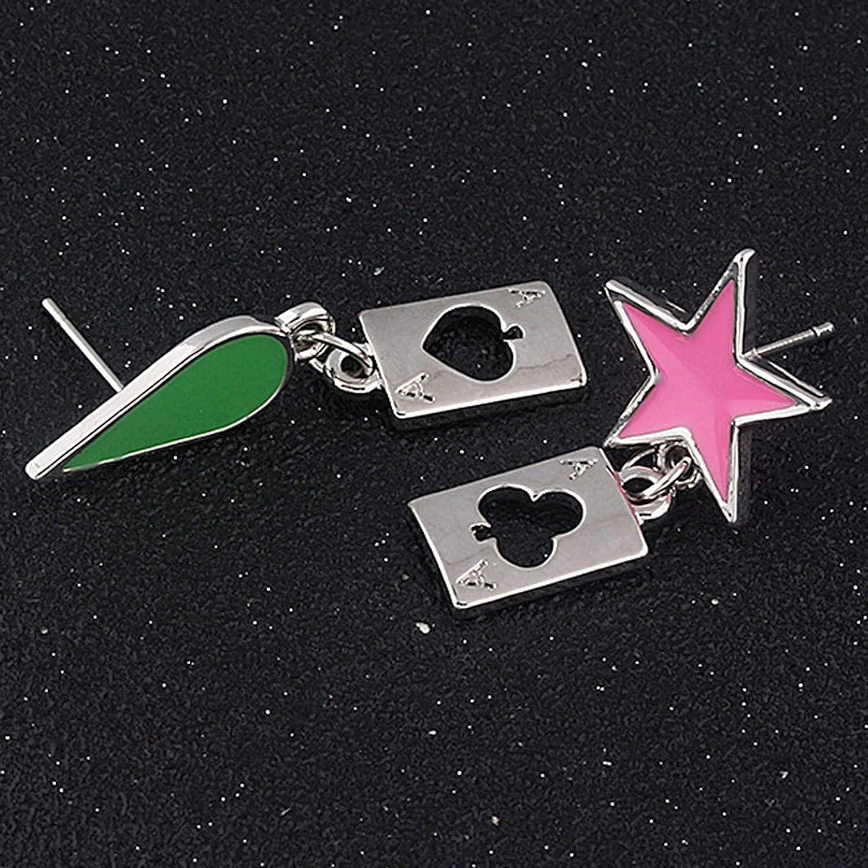 Anime Jewelry Hunter Mismatched MINI Earring Studs