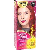 Coloração creme Color Total 7.66 Vermelho Sedução Salon Line, Salon Line, Vermelho