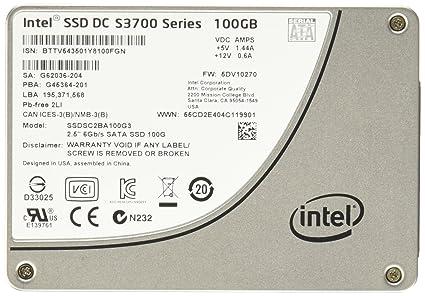Intel SSDSC2BA100G301 - Disco Duro sólido Interno SSD de 100 GB ...