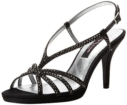 af714ba936c2 Nina Women s Bobbie LS Dress Sandal  Amazon.co.uk  Shoes   Bags