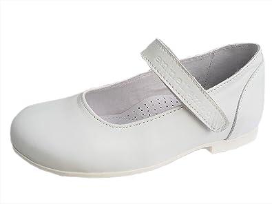 e58d1d47cda9 Mädchen-Kinder-Ballerinas Ennellemoo® Echt Leder-Schuhe -Spangenballerina-Riemchenschuhe-