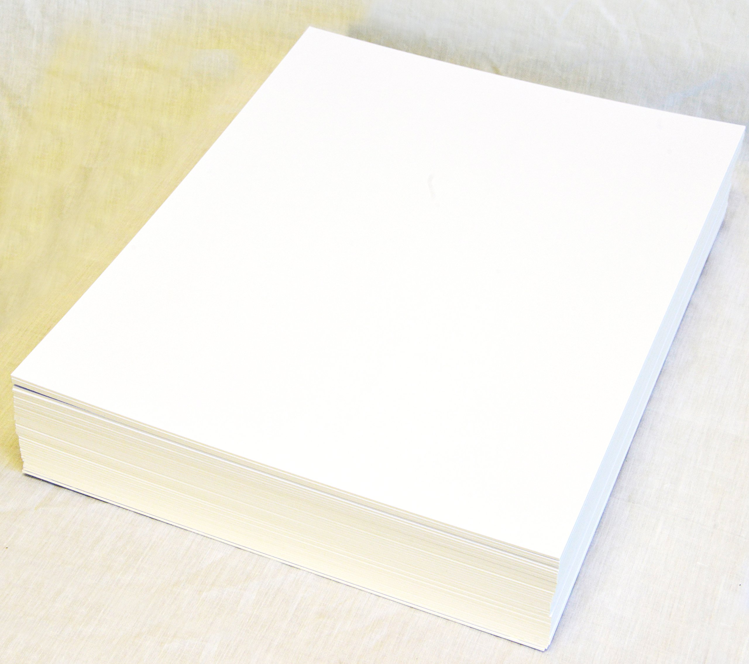 topseller100, Pack of 30 sheets 30x42 UNCUT matboard / mat boards (White)