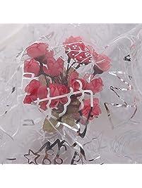 f202c9e40 Deconovo Christmas Organza Glittering Sheer Tree Skirt for Xmas DIY Gift  Wrap Kids Birthday Wedding Party