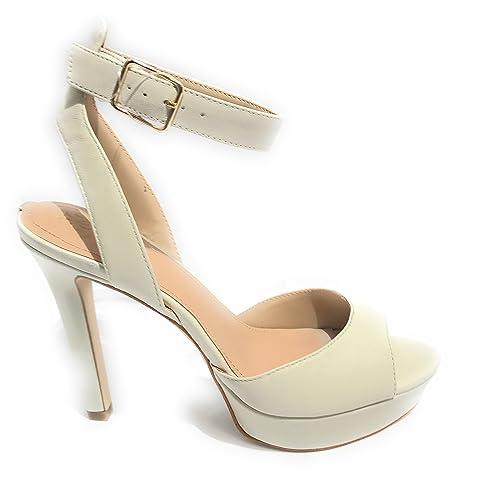 Guess 35 Zapatos es Size Amazon Eu Y Tacón Sandalia Con Mujer 6UOz1rq67