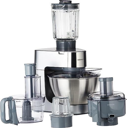 ماكينة المطبخ بروسبيرو سعة ٤.٣ لتر وقوة ٩٠٠ واط من كينوود – فضي (OWKM287001)