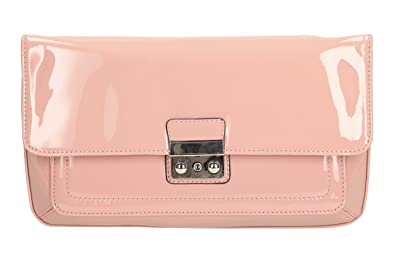 06eb197b423 Ladies Clarks Synthetic Clutch Bags Jingly Joy Dusty Pink: Amazon.co ...