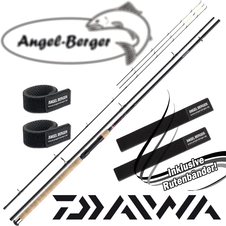 Angel-Berger Daiwa Ninja X Feeder Feeder caña de Pescar con ...