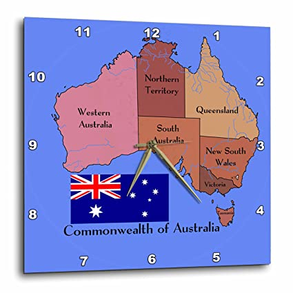 d5b7e91b8 Amazon.com: 3dRose dpp_79411_1 The Map and Flag of The Commonwealth ...