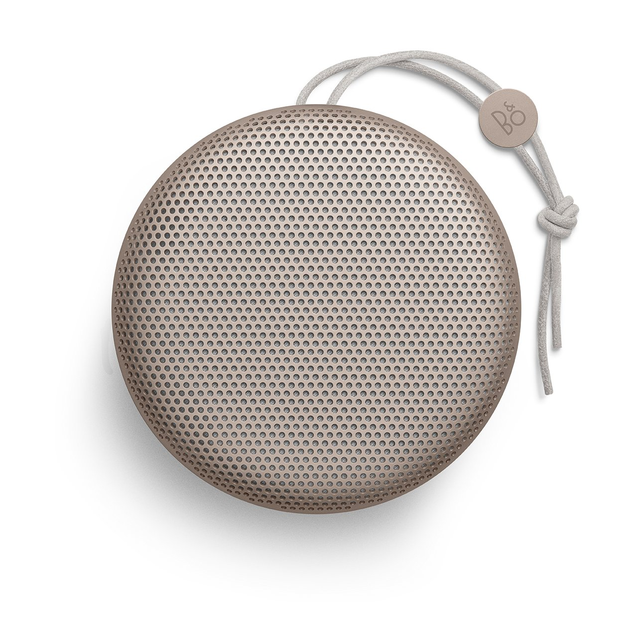 B&O PLAY by Bang & Olufsen Beoplay A1 Portable Bluetooth Speaker with Microphone (Sand Stone)
