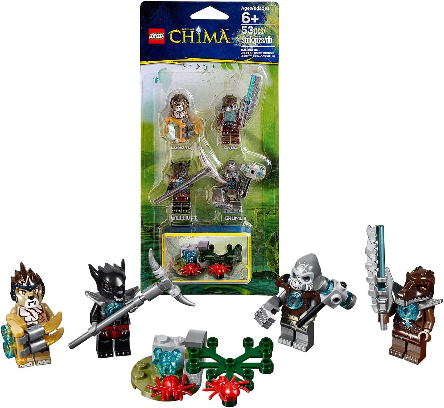 LEGO Legends of Chima Crug Minifigure Crocodile Tribe Mini Fig
