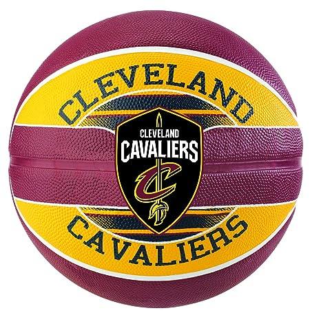 Spalding Ball Team NBA Cavaliers Balón de Baloncesto: Amazon.es ...