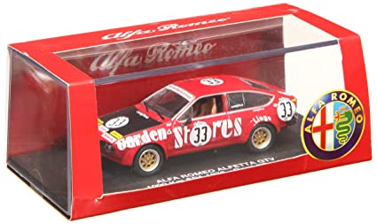 Amazon.com: 1/43 Alfa Romeo GTV 76 arufetta Spa 621.4 mile ...