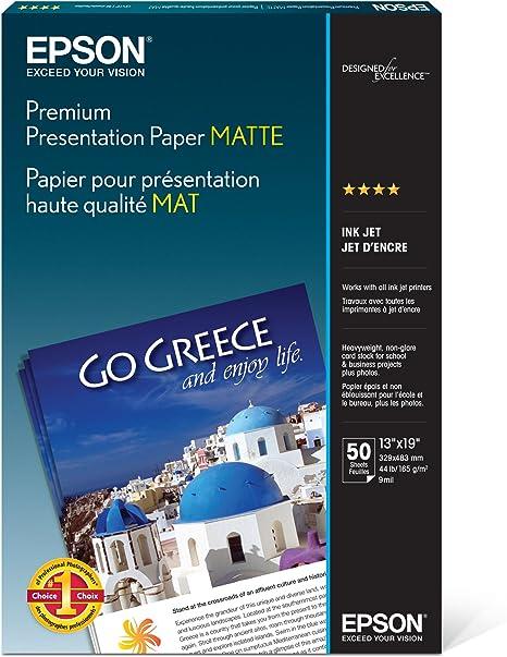 Epson Premium Presentation Paper Matte - 13
