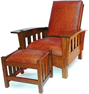 Build Your Own Bow Arm Morris Chair Plan   American Furniture Design