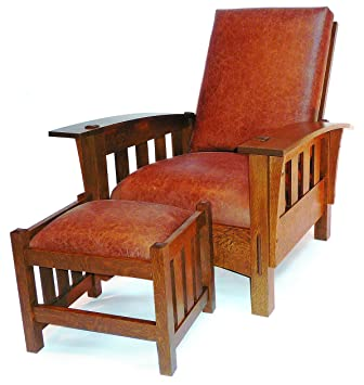 Awesome Build Your Own Bow Arm Morris Chair Plan   American Furniture Design