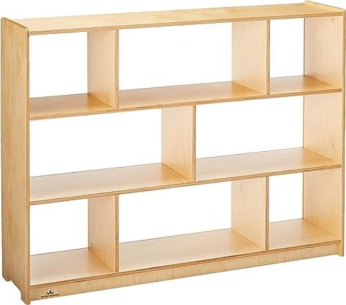 Whitney Brothers 36 Schoolage Storage Cabinet Acrylic Bk