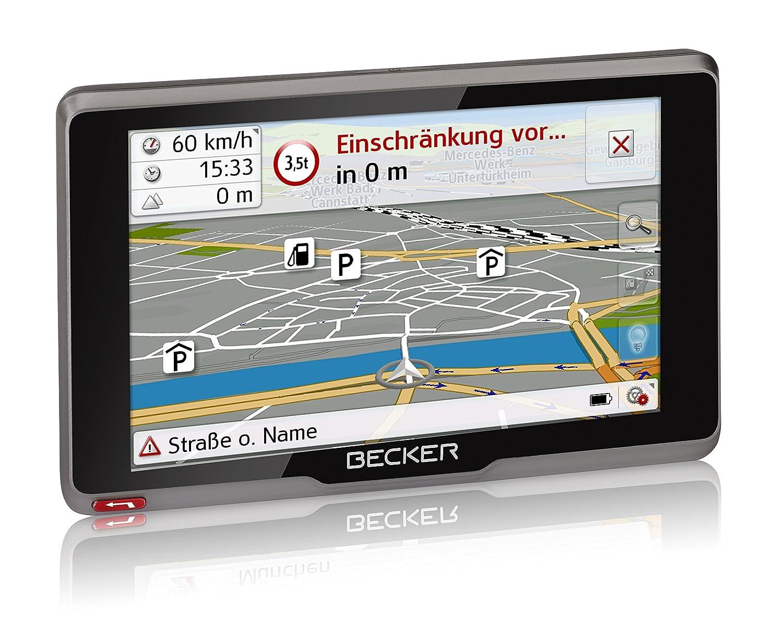 Becker 200080 transit.5s EU Truck und Camper Navigationsgerät (12,7 ...