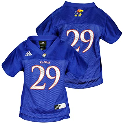 big sale d6f84 91e41 Amazon.com: adidas NCAA Toddlers Kansas Jayhawks # 29 ...