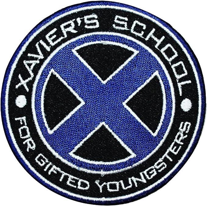 X-men Replica X Logo Embroidered Patch Marvel Comics Xavier School Wolverine
