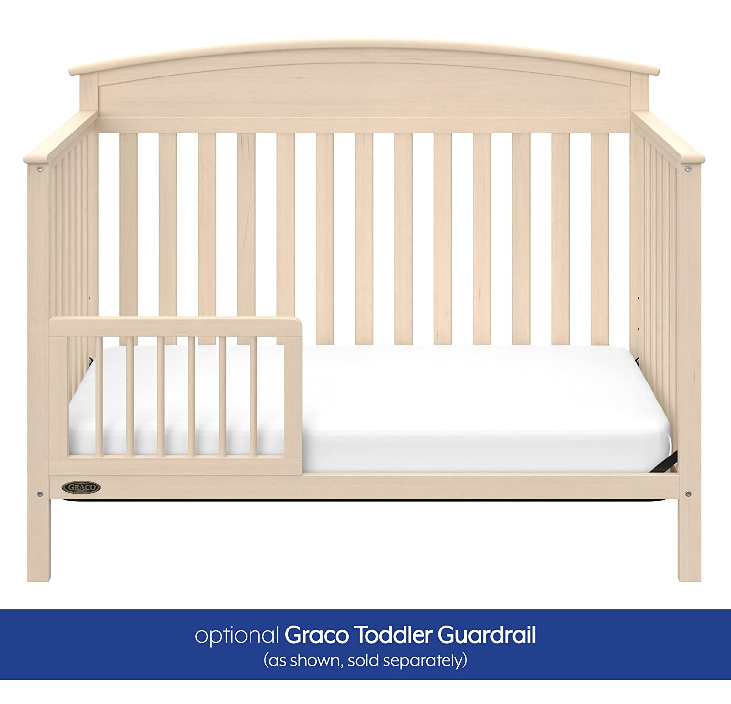 Pebble Gray Graco Toddler Guardrail