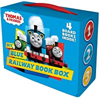 My Blue Railway Book Box (Thomas & Friends) (Bright & Early Board Books(TM))
