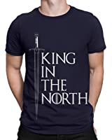 Silly Punter Game Of Thrones King In The NorthMen's Cotton T-Shirt