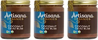 product image for Artisana Organics Non GMO Coconut Cacao Bliss Spread (3 Pack, 8 oz)