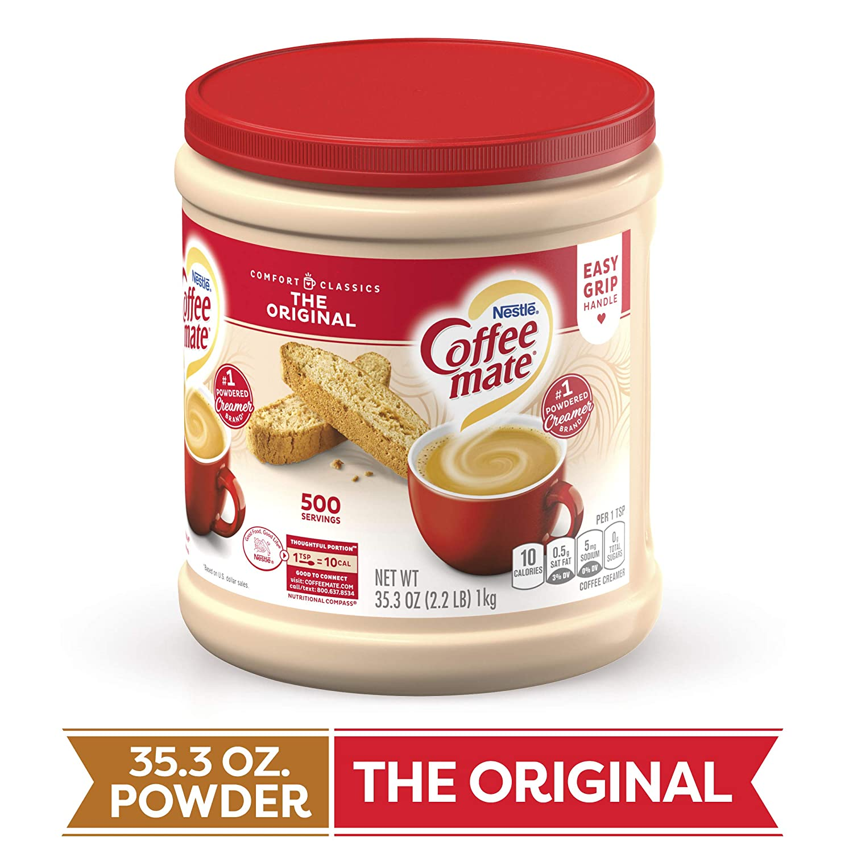 COFFEE MATE The Original Powder Coffee Creamer 35.3 Oz. Canister | Non-dairy, Lactose Free, Gluten Free Creamer